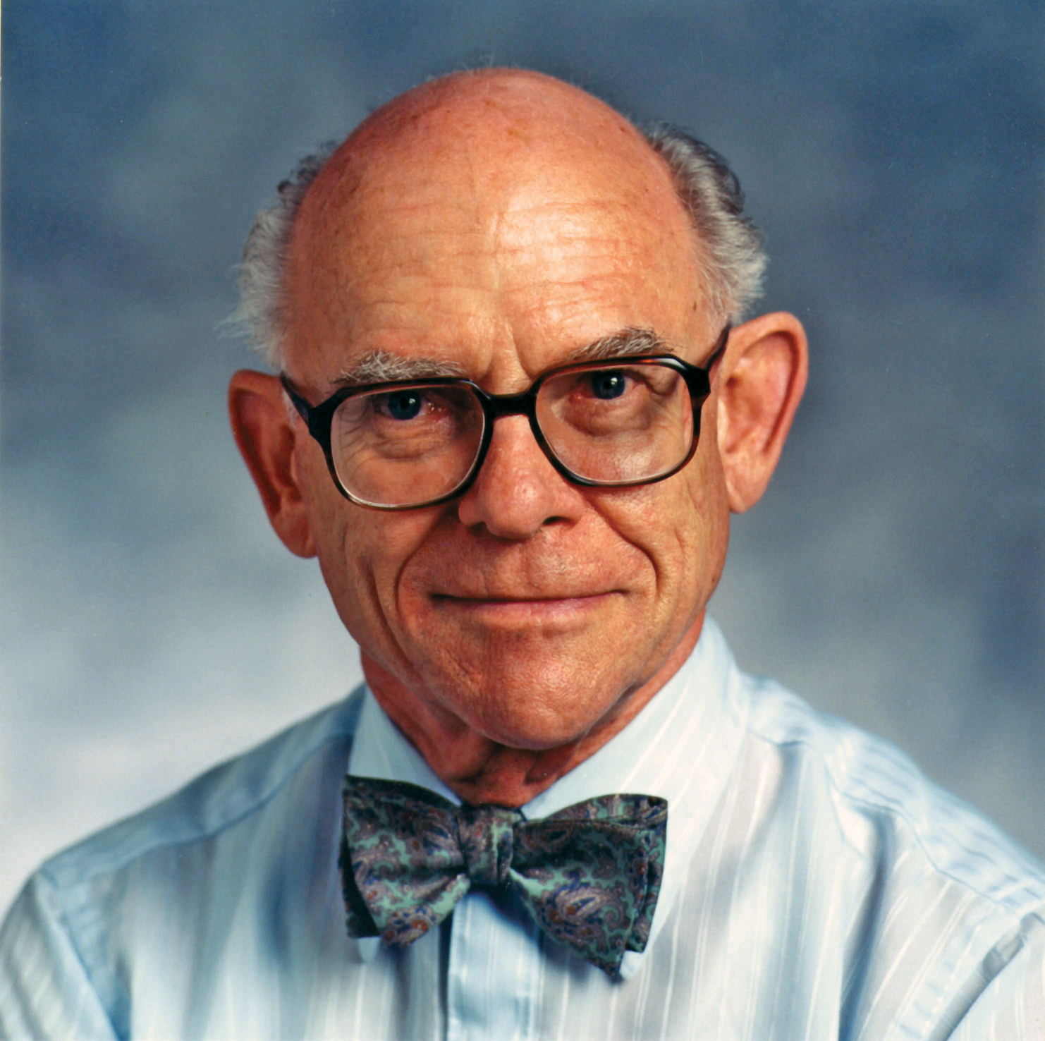 Texas A&M chemist F.A. Cotton smiles at the camera